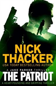 Cover image of the book 'The Patriot, by author Nick Thacker