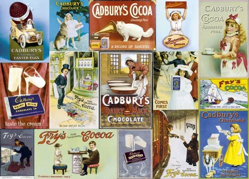 Image of the jigsaw puzzle 'Cadbury's' by Gibsons Jigsaw Puzzles, 1,000 pieces