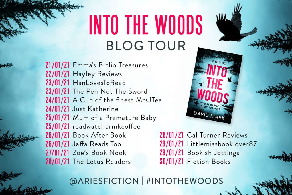 Image of the Blog Tour Banner fir the book
