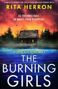 Cover image of the book 'The Burning Girls' by author Rita Herron