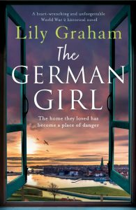 Cover image of the book 'The German Girl' by author Lily Graham