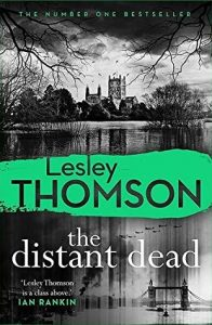 Cover image of the book 'The Distant Dead' by author Lesley Thomson