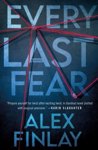 Cover image of the book 'Every last Fear' by author Alex Finlay