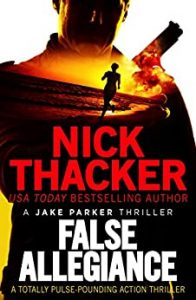 Cover image of the book 'False Allegiance' by author Nick Thacker