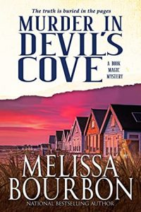Cover image of the book 'Murder In Devil's Cove' by author Melissa Bourbon