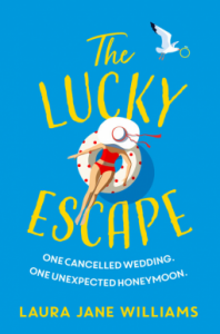 Cover image of the book 'The Lucky Escape' by author Laura Jane Williams