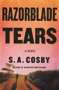 An alternative cover image for the book 'Razorblade Tears' by author S.A. Cosby