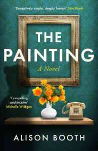 Cover image of the book 'The Painting' by Alison Booth