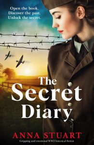 Cover image of the book 'The Secret Diary' by author Anna Stuart