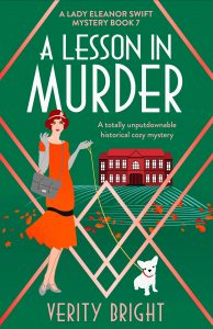 Cover Image of the book 'A Lesson In Murder' by author Verity Bright