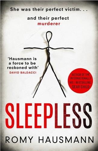 Cover image of the book 'Sleepless' by author Romy Hausmann