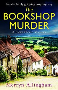 Cover image of the book 'The Bookshop Murder' by author Merryn Allingham