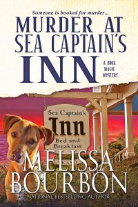 Cover Image of the book 'Murder At Sea Captain's Inn' by author Melissa Bourbon
